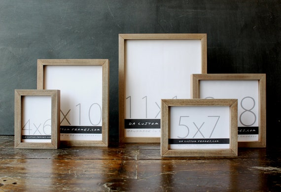 11x14 picture frame with mat ikea natural sail rope colored finish part drift collection handmade discount bulk frames