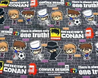 Japanese Anime  Fabric Detective Conan