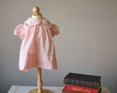 1960s Tiny Tots Spring dress, size 6 months