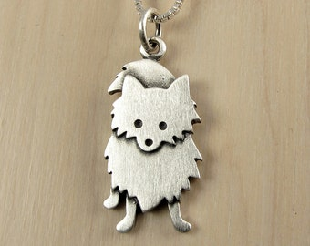 Larger Pomeranian necklace / pendant