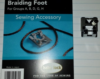 Babylock Braiding Foot ESG-BF