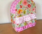 Toddler Backpack, The Sweetest Thing - With add on Ruffles