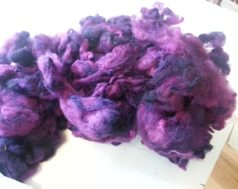 5.9 ounces of dyed soft wool