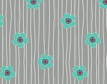 Art Gallery • Nordika • Flowerfall Jade • Cotton Fabric 001934