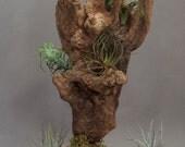 Driftwood animals sculpture
