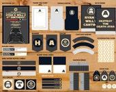 Darth Vader Inspired Birthday Party - Printable Set