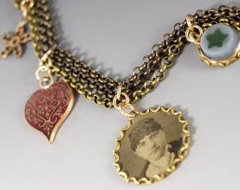 Old Charms Bracelet