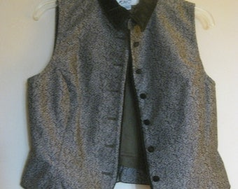 Vest with Velvety Accents Vintage