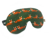 eyemask fox green adjustable night mask