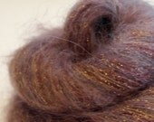 "Kido Lame Sparkling Laceweight Kid Mohair - 50gm-460yds ""Someone's Got To Milk The Goats"