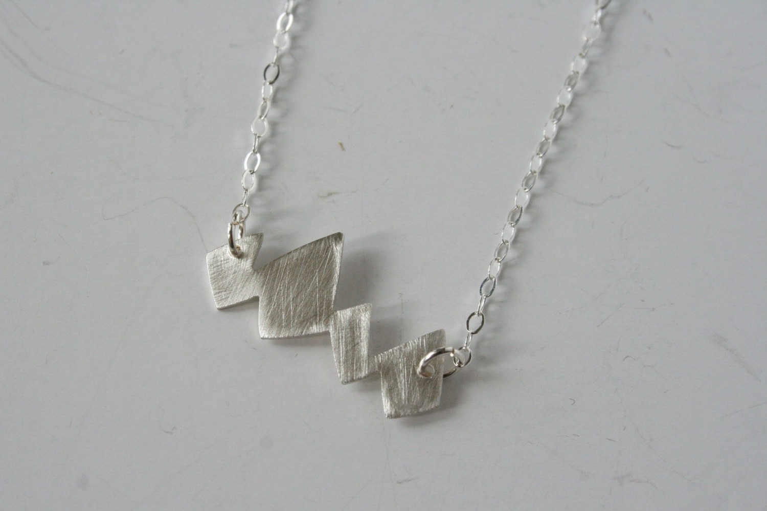 silver mountain necklace mountain jewelry jagged jewelry. Black Bedroom Furniture Sets. Home Design Ideas