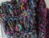 Cowl scarf hood neckwarmer, women's winter luxury knit purple blue pink, soft wool, stretch wide headband dread head wrap crochet i924