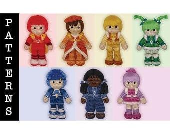 Crochet Pattern Bundle - Amigurumi Color Kids Only