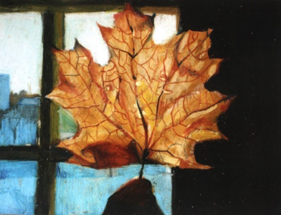 Leaf / Paper print - Landscape & Scenic -ART PRINT