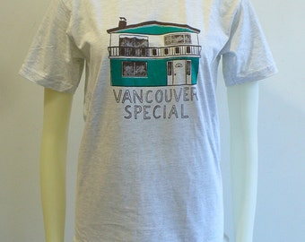 Chantale Doyle for Blim Vancouver Special T-shirts!! (Heather Grey & Cream)