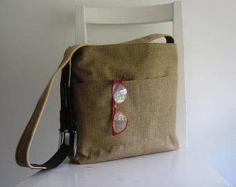 Sack - Sturdy Upholstery Linen Shoulder Bag