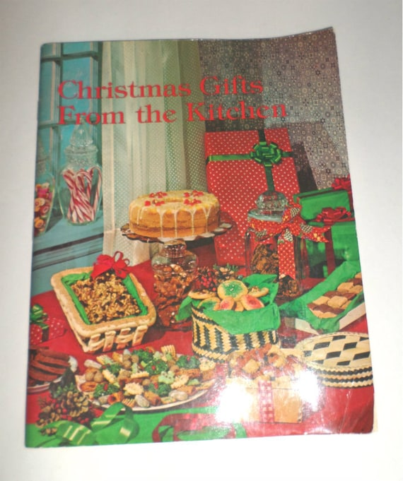 Vintage cookbook christmas gifts from the kitchen by for Christmas gift ideas from the kitchen