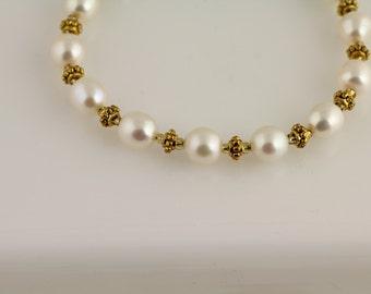 Freshwater Pearl Bracelet. Listing 181473877