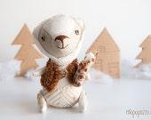 Handmade Artist Teddy Baby Bear Caramel
