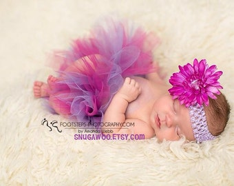 Newborn baby tulle tutu , new baby girl, baby girl photo prop, baby girl newborn pictures, newborn girl, baby shower gift, baby girl gift,