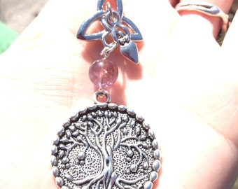 Brigid's Tree of Life Mother Blessing Amulet, Safe Childbirth Pendant