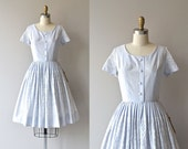 Best Laid Plans dress • vintage 1950s dress • cotton 50s dress