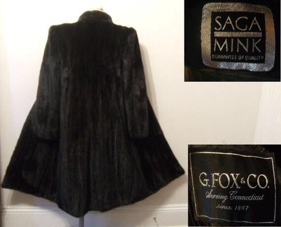 Black Mink Coat Value | Down Coat