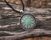 One of a Kind Kaleidoscope Pendant