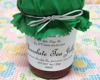 Chocolate Tea Jelly, Regular or Sugar Free