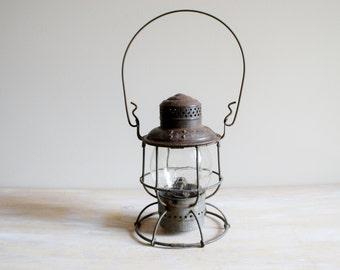 1913 Soo Line Railroad Lantern With Clear Glass Soo Line Glass Globe-Armspear Lantern