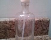 """Vintage """"Listerne"""" soap/lotion dispenser medicine bottle"""