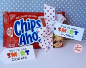 You're One Smart Cookie Tag-Teacher Appreciation Cookie Gift