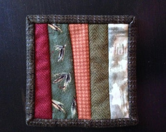 8.95 Coaster sale- Beer Rugs (manly coasters) set of four- was 12.95