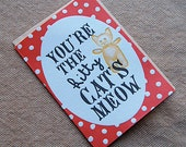 You're the Kitty Cat's Meow - 4bar card and envelope