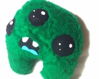 Green Monster - Weird Plush Furry Stuffed Toy
