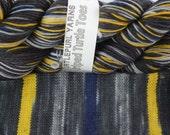 Beekeeper - Hand-dyed Self-striping sock yarn