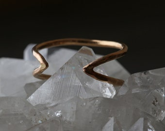 Arrow Ring- As seen in Lucky Magazine