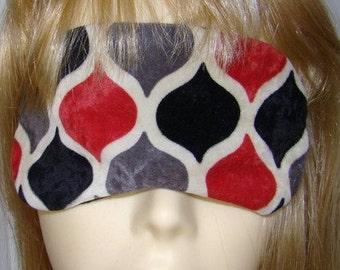 Diamonds Embroidery Sleep Mask