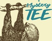 MYSTERY TEE! (ships free with another item) Mens or Women's Tshirt Tank or V-Neck - American Apparel