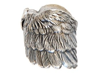 Wing ring/ Woman Gift / Special gift/ standout ring/ Elegant style / Unique ring/ Handmade / Made in France/ rock style/ punk/ fashionable