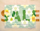 2014 Write-On Wall Calendar *SALE*