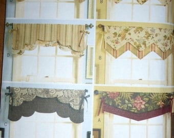 Butterick Pattern 5369 - Fast and Easy Reversible Valances Pattern