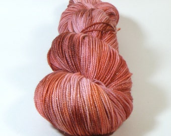 Yarn of Letters - Jest Sparkle 2ply Merino/Nylon/Stellina Sock - Long Live the Queen