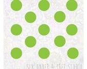 48 Polka Dots Wall Vinyl Decals Art Graphics Stickers