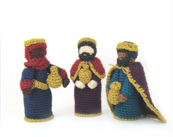 Christmas Crochet Pattern -Nativity -Creche PDF INSTANT DOWNLOAD