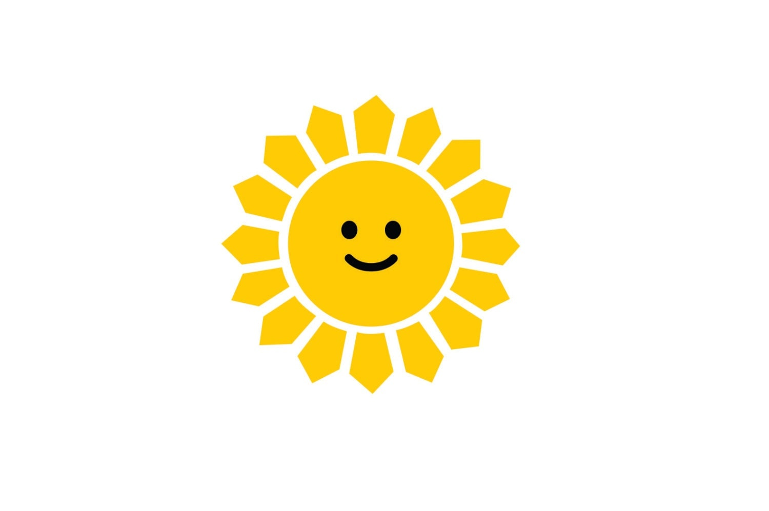 Smiling sun images - Details Sun Wall Decal