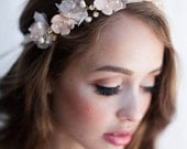 Cherry Blossom Crown With Clay Flowers