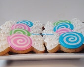 Colorful candy cookies 1 dozen