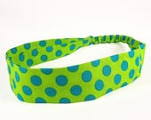 "Fabric Headband - Calypso - Pick your size - fit toddlers to adults - 1-1/2"" wide"