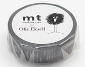 New -mt washi masking tape - designer collection - mt x Olle Eksell - work and fika (refreshments)